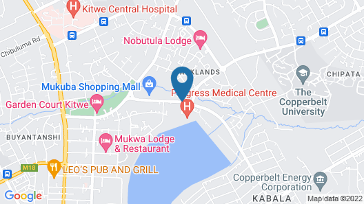 Lindsay Executive Lodge Map