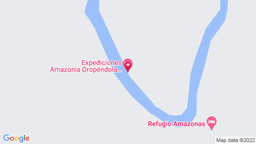 Yacumama Tambopata Ecolodge Map