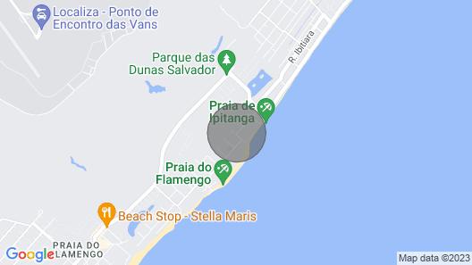 Melhores Aptos./flats. da Praia do Flamengo Map