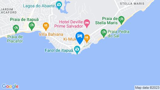 MAR BRASIL HOTEL Map