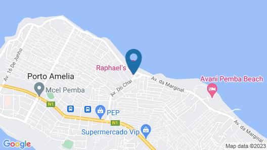 Raphael's Hotel Map