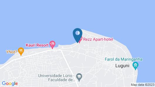 Rezz Aparthotel Map