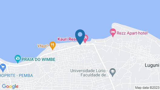 Kirimizi - Hotel & Restaurante Map
