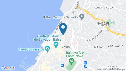 Pestana Convento do Carmo Map