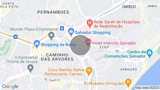 Mandarin Salvador Shopping Map