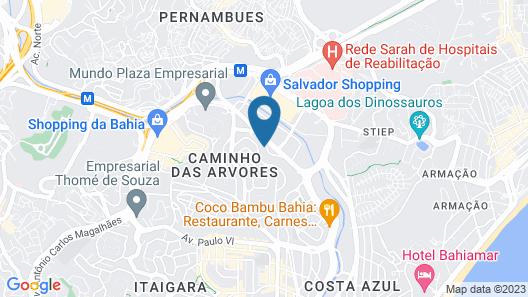 Boulevard Residencial Map