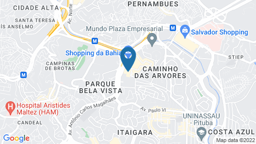 Iguatemi Business Flat Map