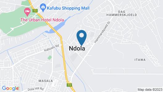 Chabanga Lodge Map