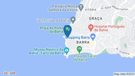 Porto Salvador Hotel Map
