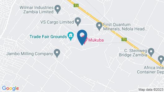 Mukuba Hotel Map