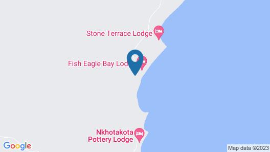 Fish Eagle Bay Lodge Map