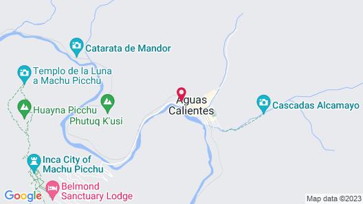 Sumaq Machu Picchu Hotel Map