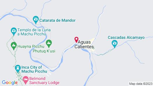 Hotel Santuario Machu Picchu Map