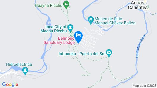 Sanctuary Lodge, A Belmond Hotel, Machu Picchu Map