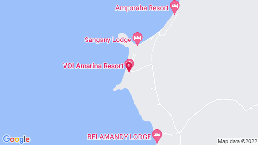 VOI Amarina Resort Map