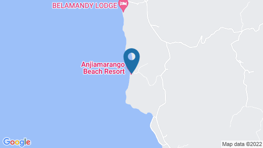 Anjiamarango Beach Resort Map