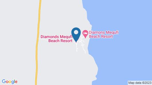 Diamonds Mequfi Beach Resort Map