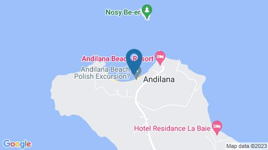 Andilana Beach Resort - All Inclusive Map