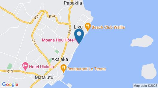 Moana Hou Hôtel Map