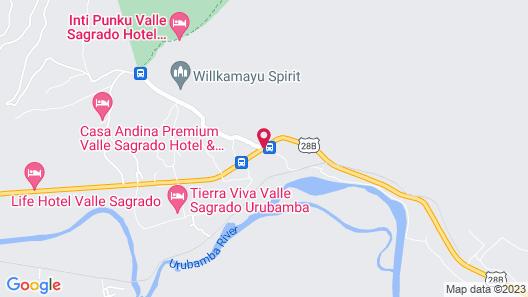 Intiterra The Luxury Apart Hotel Map
