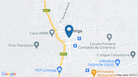 Lichinga Hotel by Montebelo Map