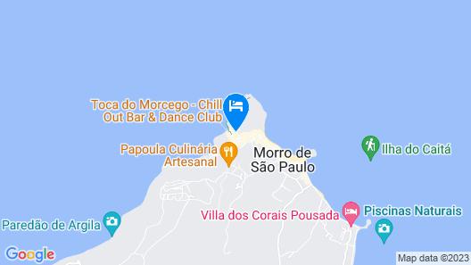 Hotel Pousada Natureza Map