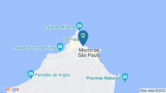 Hotel Morro da Saudade Map