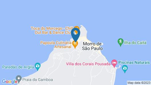Che Lagarto Hostel Morro de São Paulo Map