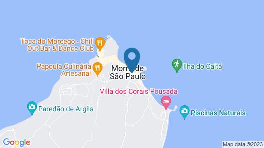 Pousada Bahia Tambor Map