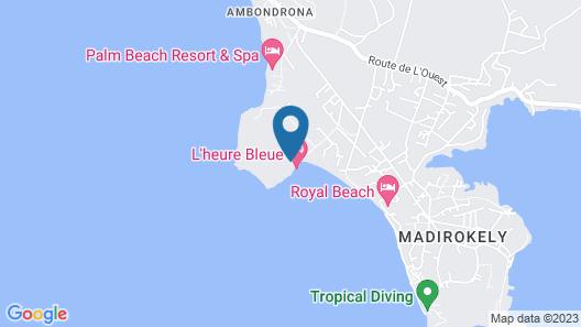 L'Heure Bleue Map