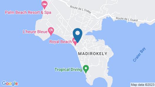 Royal Beach Hôtel Map