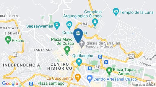 Estancia San Blas Map