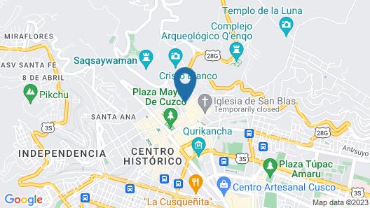 Hotel Rumi Punku Map