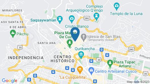 Palacio Nazarenas, A Belmond Hotel, Cusco Map