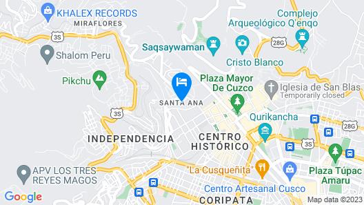 Hilton Garden Inn Cusco Map