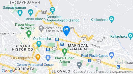 Imagen Plaza Cusco Map