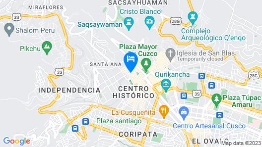 Aranwa Cusco Boutique Hotel Map