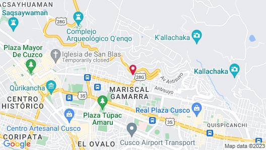 Wyndham Cusco Saqsayhuaman Map