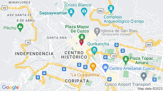 Hotel Cusco Plaza de Armas Map