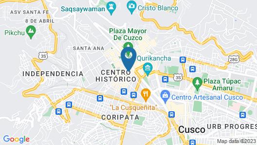 Kokopelli Hostel Cusco Map