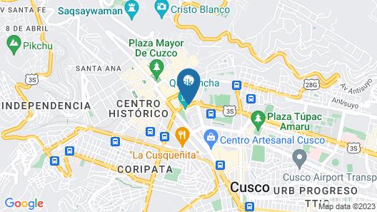 Palacio del Inka, A Luxury Collection Hotel by Marriott Map