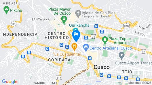 LP Los Portales Hotel Cusco Map
