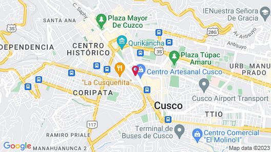Sonesta Hotel Cusco Map