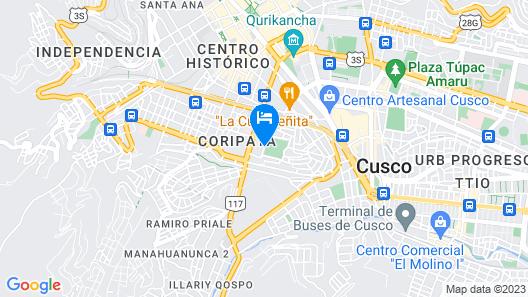 Inkas Garden Apartment Map