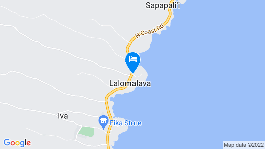 The Savaiian Hotel Map