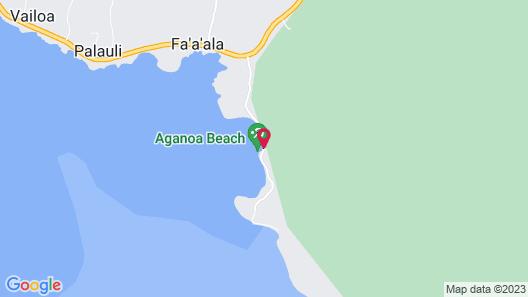 Aganoa Lodge Samoa - All Inclusive Map
