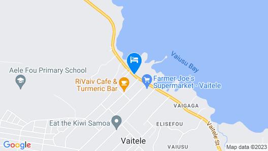 Moanalisa Hotel Map