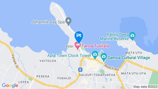Hotel Elisa Map