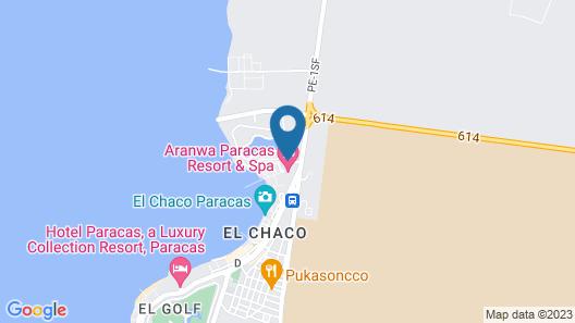 Aranwa Paracas Resort & Spa Map