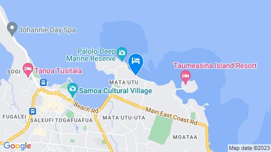 Ulalei Lodge Map